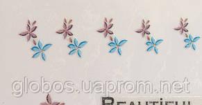 """Наклейка на ногти  2D  """"GLOBOS""""  S126, фото 2"""