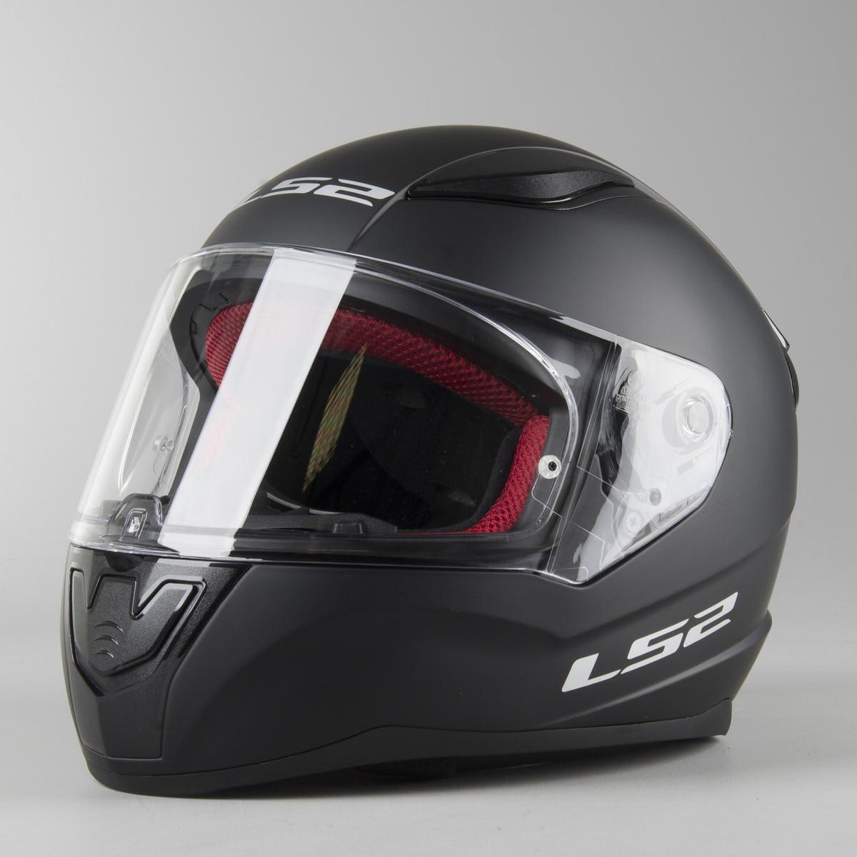 Мото шлем LS2 FF353 RAPID KIDS  Matt Black Черный мат ДЕТСКИЙ