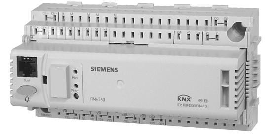 Свободно параметрируемый контроллер систем отопления Siemens RMH760B-4