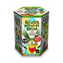 Набор д / проращивания растения Grass Monsters Head 01 (поливай и наблюдай) + Волшебный Боб (в) (8) Д