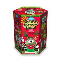 Набор д / проращивания растения Grass Monsters Head 06 (поливай и наблюдай) + Волшебный Боб (в) (8) Д