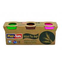 Масса для лепки EKO упаковка ассорти 3 цвета * 100г (48) Турция