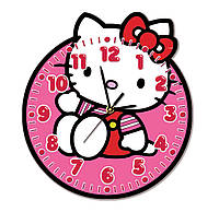 Часы настенные для девочек 30*30 см