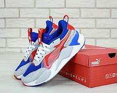 Мужские кроссовки Puma RS Blue Red . ТОП Реплика ААА класса., фото 2