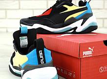 Мужские кроссовки Puma Thunder Spectra Black . ТОП Реплика ААА класса., фото 3