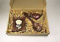 """Шоколадный набор.  Оригинальный шоколадный набор """"Любимой женщине""""."""