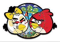 Часы настенные в детскую 37*25 см