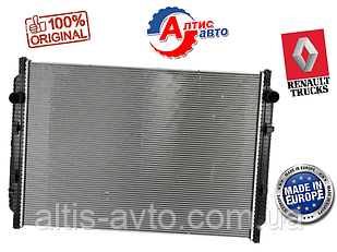 Радиатор Renault Premium, Kerax (алюминий 440, 420, 400, 385 2 DXi,) охлаждения Рено Премиум Магнум 5001867210