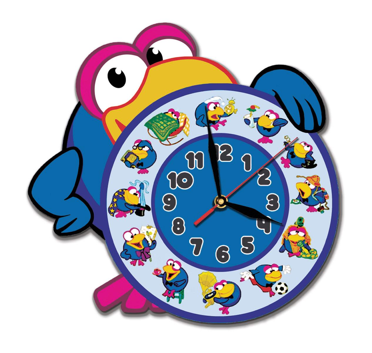 Часы детские Сова 30*31 см