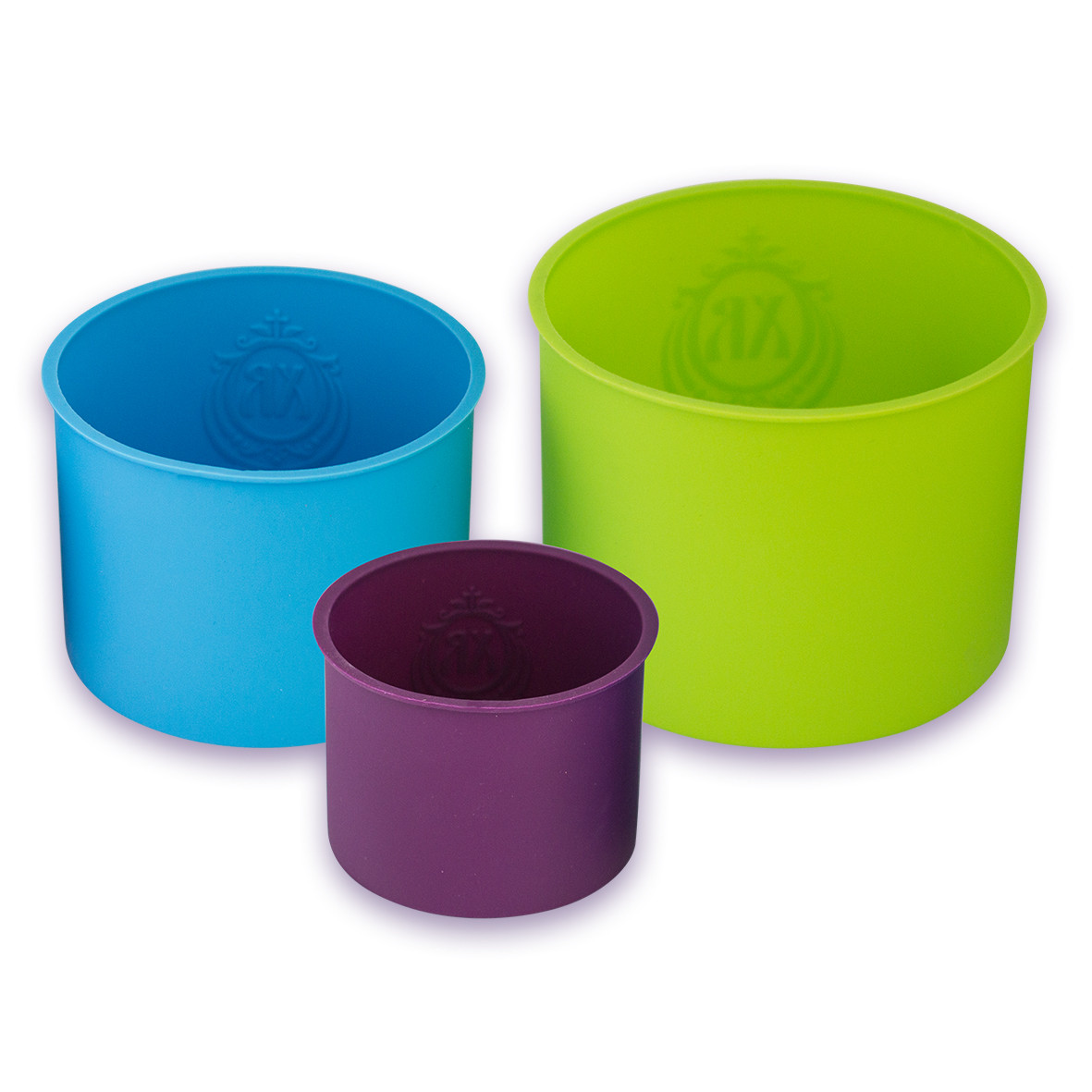 Набор форм Kamille 3 предмета силиконовых для куличей