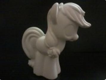 Гипсовая фигурка для раскрашивания Пони с хвостиком