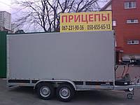 Прицеп Сантей 2500 двухосный с тормозами, фото 1
