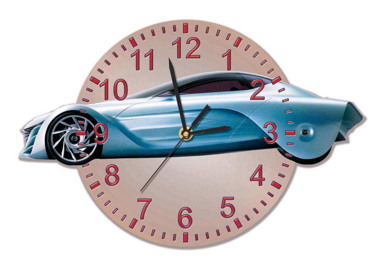 Часы сувенирные Тачка 35*24 см