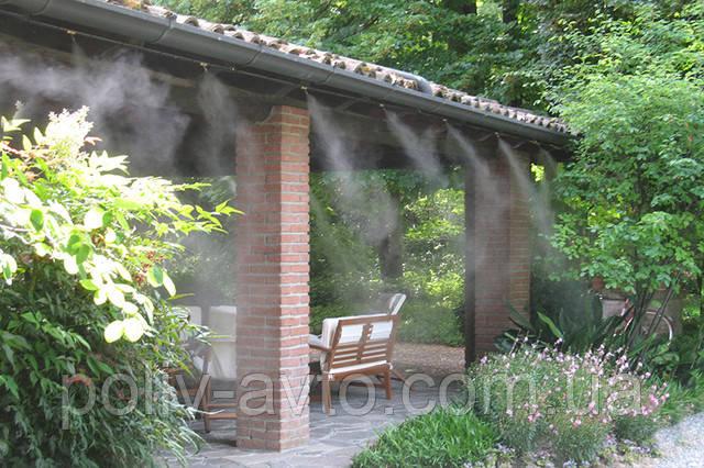 Система туманообразования. Приятная прохлада летом!