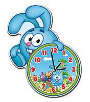 Часы в детскую на мдф основе 30*37 см