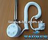 Белый ТЭН TERMA MOA White: регулятор 30-65C; таймер 2 ч. для полотенцесушителя (2 режима). Польша. 200-1000W, фото 2