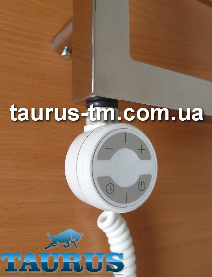 Белый ТЭН TERMA MOA White: регулятор 30-65C; таймер 2 ч. для полотенцесушителя (2 режима). Польша. 200-1000W
