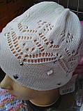 Весенняя шапочка для девочки, фото 2