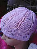 Весенняя шапочка для девочки, фото 3