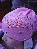 Весенняя шапочка для девочки, фото 4