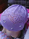 Весенняя шапочка для девочки, фото 5