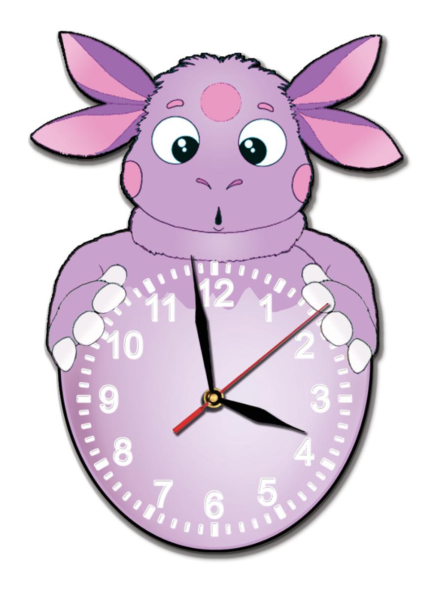 Часы мультяшные для девочек 24*34 см