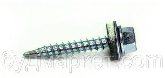 Саморіз покрівельний оцинкований 4,8*35 (шестигранна голівка 8мм)