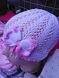 Весенние  шапочки для девочки, фото 3