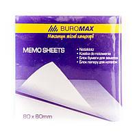 Блок бумаги для заметок 80х80 ВМ 2200 белый