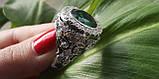 Кольцо мужское серебряное Корона Владыки, фото 4