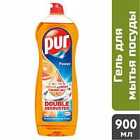 Гель для миття посуду Pur Апельсин-грейпфрут, 900 мл