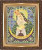 """Икона """"Остробрамская Пр.Богородица"""" - схема для вышивки бисером"""