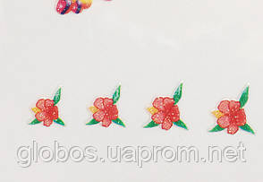 """Наклейка на ногти  2D  """"GLOBOS""""  S331, фото 2"""