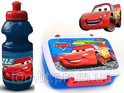 """ОПТ. Набор """"Frozen"""" и """"Cars"""": Ланч бокс (ланчбокс) + бутылка, фото 2"""