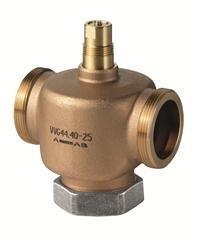 Двуходовой, резьбовой клапан Siemens VVG44.15-4
