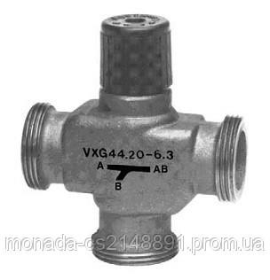 Трехходовой, резьбовой клапан Siemens VXG44.15-1