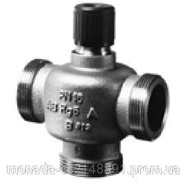 Трехходовой, резьбовой клапан Siemens VXP45.40-25