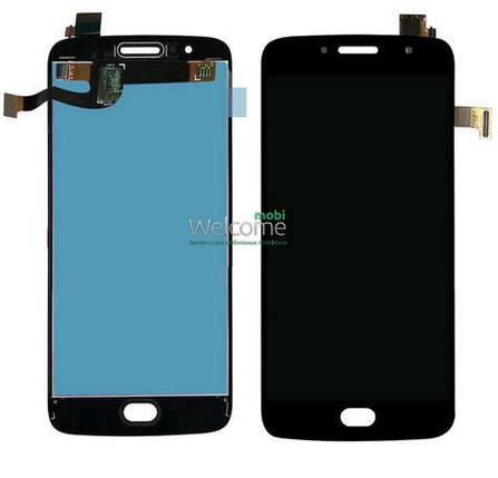 Модуль Motorola XT1793 Moto G5s,XT1792,XT1794 black дисплей экран, сенсор тач скрин Моторола Мото, фото 2