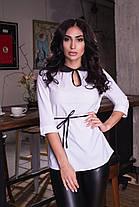 Отличная блуза с пояском, фото 3