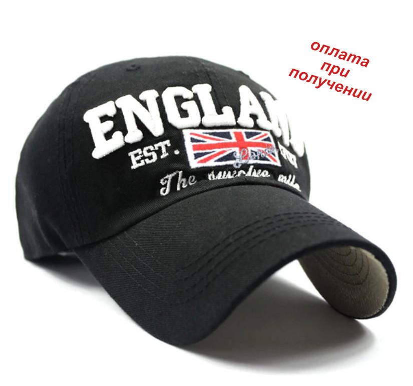 Мужская чоловіча спортивная стильная кепка бейсболка блайзер ENGLAND