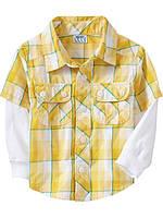 Кофта-рубашка 2Т
