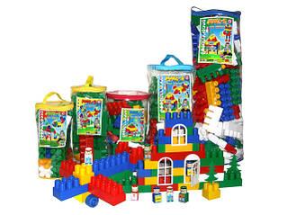 Конструкторы для детей (пластмассовые, металлические, наборы строительных элементов, кубики)