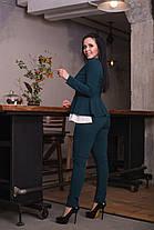 Интересный костюм с контрастной вставкой, фото 2
