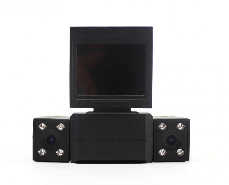 """Автомобильный Видеорегистратор на 2 камеры Automania DVR 3000/031 экран 2"""" поворот камеры на 180"""