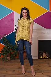 Миловидная рубашка с нежным цветочным принтом
