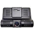 Автомобільний відеореєстратор DVR SD 319 HD з 3 камерами багатофункціональний кут огляду 170, фото 5