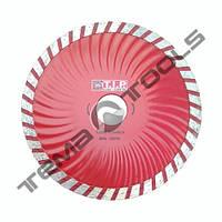 Алмазный круг турбоволна T.I.P. 125x7x22.23 отрезной для болгарки (по бетону, камню, граниту)