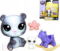 Зверюшка и ее малыш Aila Rockingham и Pandin Rockingham Littlest Pet Shop Hasbro.