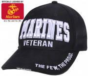 Бейсболка ветерана морского флота Rothco Deluxe Low Profile Marines Veteran Cap