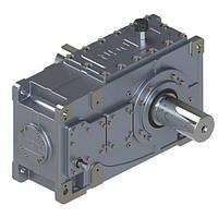 Индустриальный цилиндрический мотор-редуктор